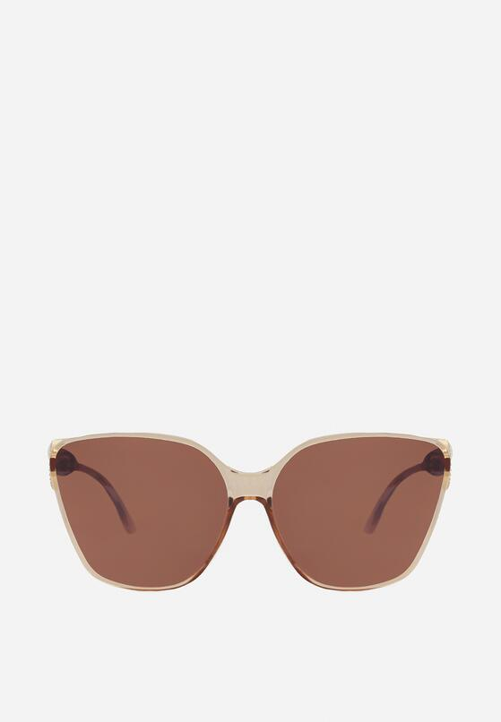 Jasnobeżowe Okulary Przeciwsłoneczne Koulena