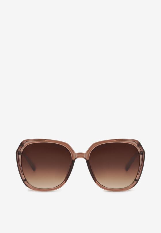 Beżowe Okulary Przeciwsłoneczne Nevalan