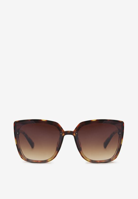 Brązowe Okulary Przeciwsłoneczne Maelion