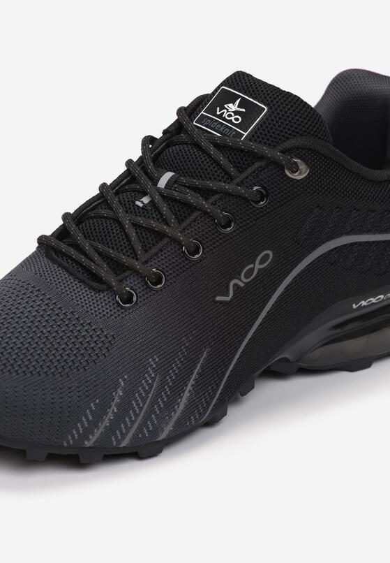 Czarne Buty Sportowe Auruen