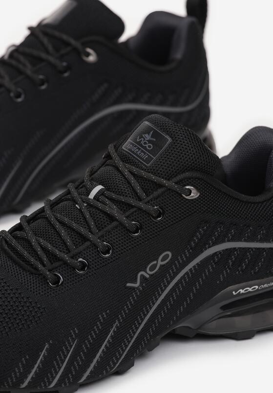 Czarne Buty Sportowe Auruene