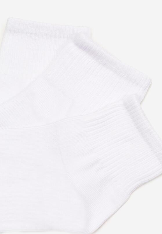 5-Pack Białe Skarpety Alurenn