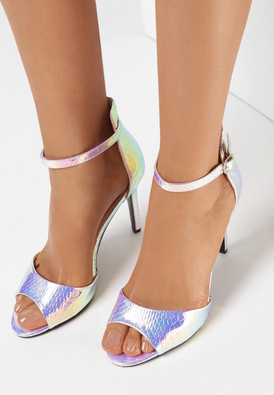 Różowe Sandały Mirdezo