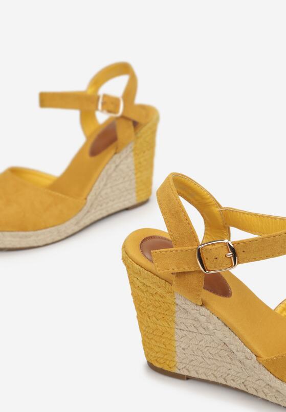Żółte Sandały Treesin