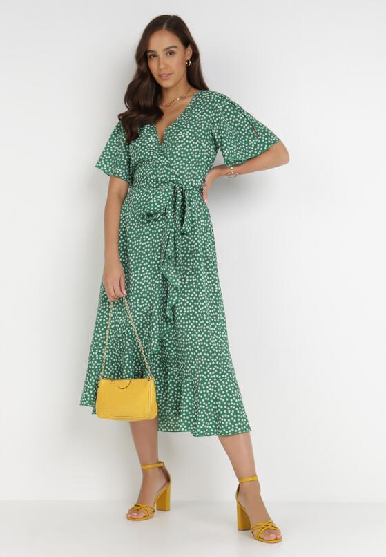Zielona Sukienka Rirra