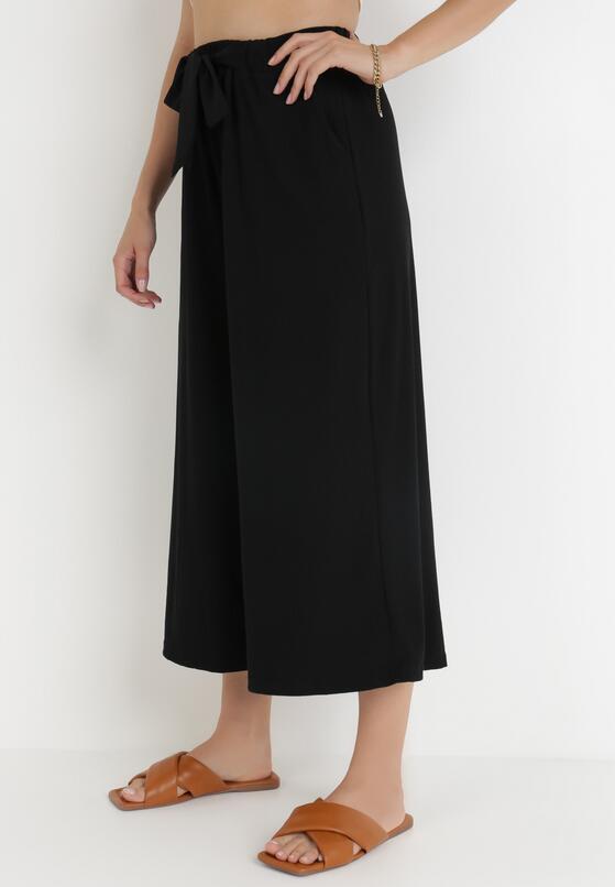 Czarne Spodnie Dezirria