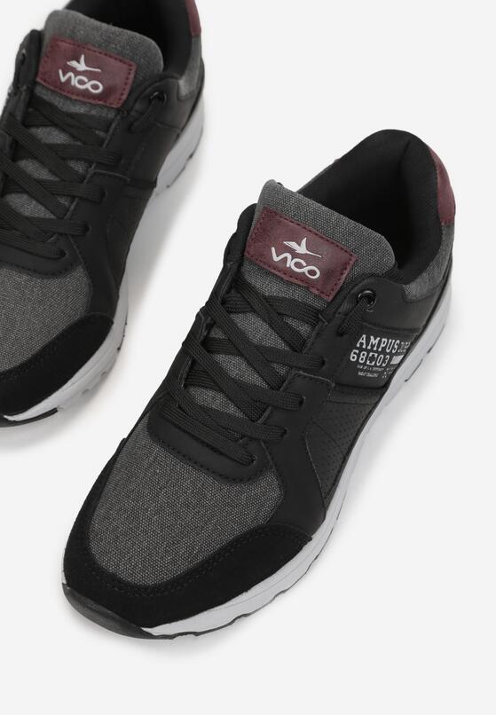 Czarne Buty Sportowe Rinagga