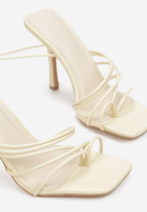Beżowe Sandały Xonethia