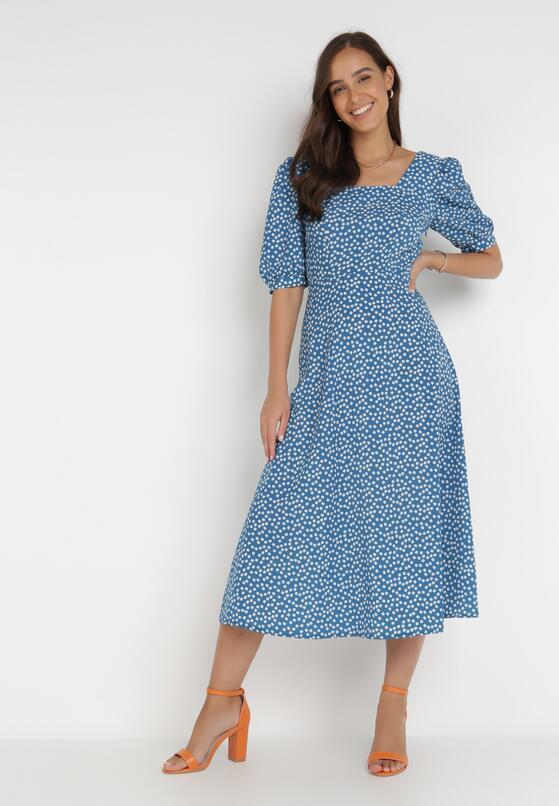 Niebieska Sukienka Miandryny