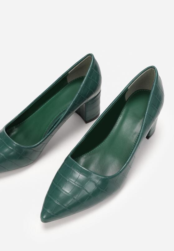 Zielone Czółenka Teresima