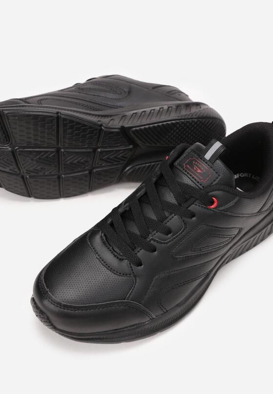 Czarne Buty Sportowe Phestreumea