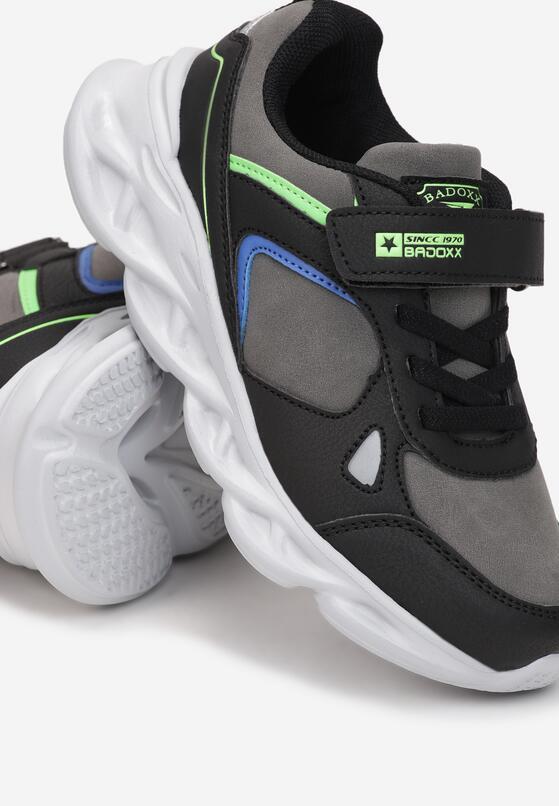 Czarne Buty Sportowe Genaell