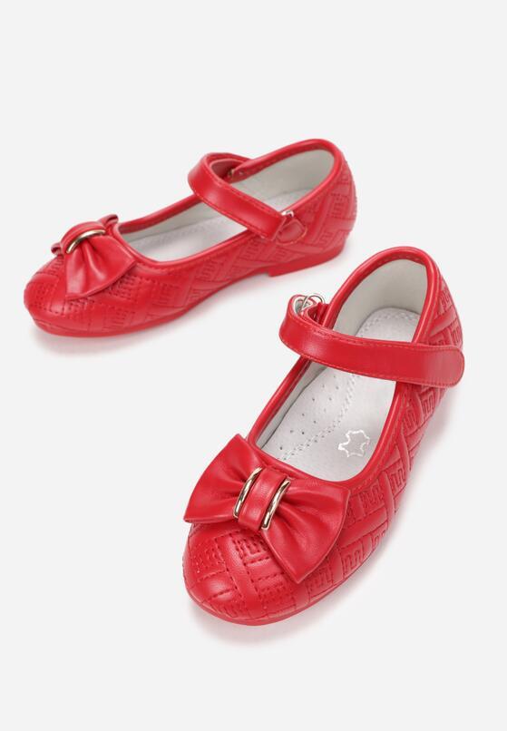 Czerwone Balerinki Thineze