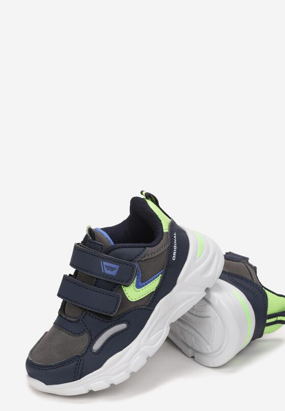 Granatowe Buty Sportowe Aenor