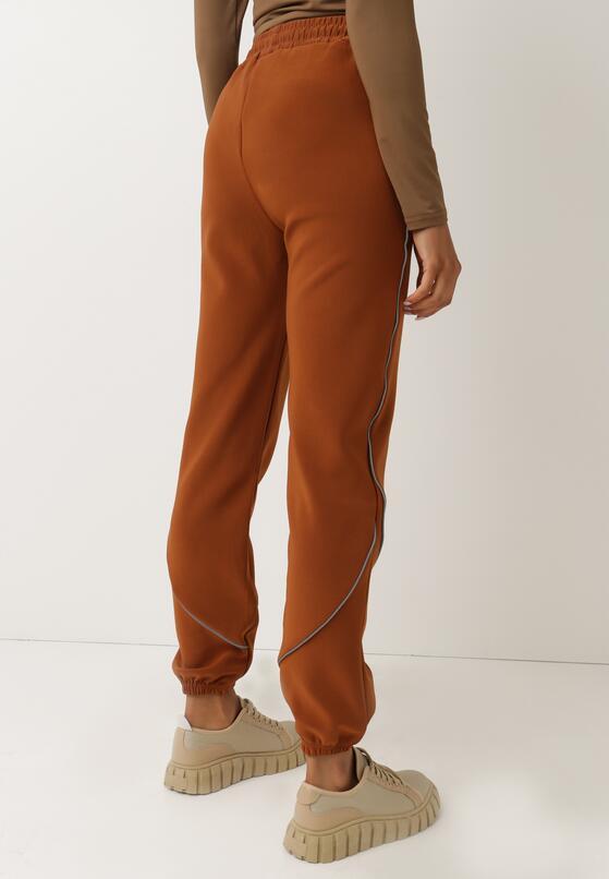Camelowe Spodnie Dresowe Bewetel