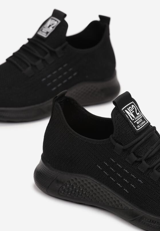 Czarne Buty Sportowe Larainna