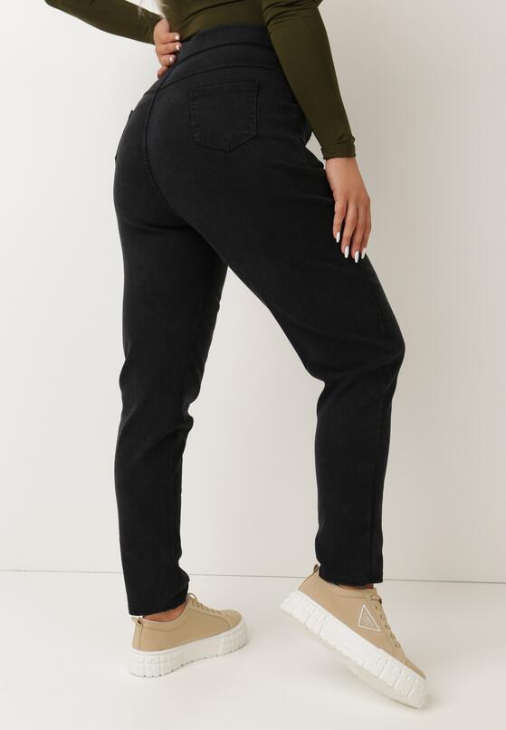 Czarne Spodnie Skinny Rodylyc