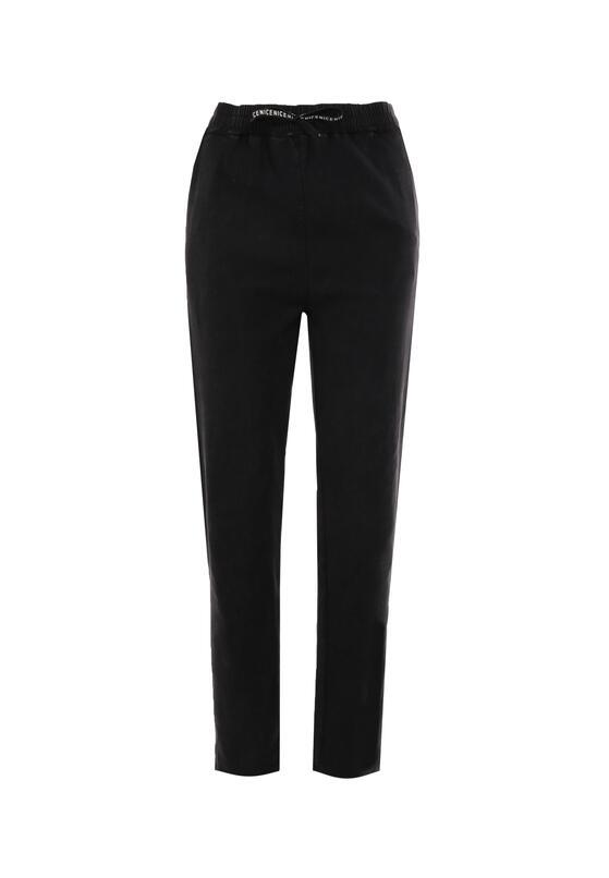 Czarne Spodnie Kerrel