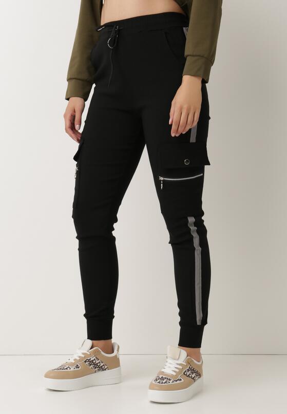 Czarne Spodnie Welewen