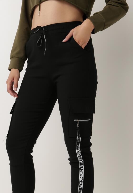 Czarne Spodnie Dresowe Gladhuil