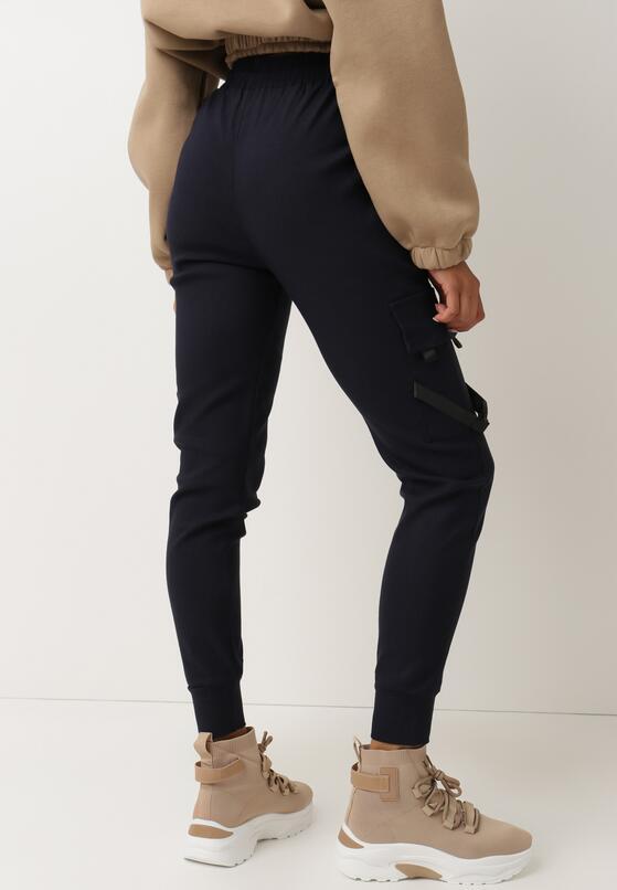 Granatowe Spodnie Bewetel