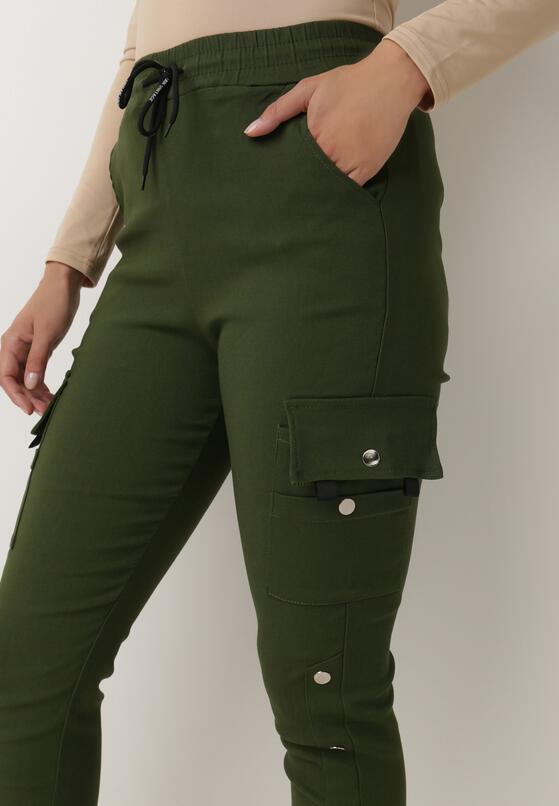 Ciemnozielone Spodnie Dresowe Demeguetel