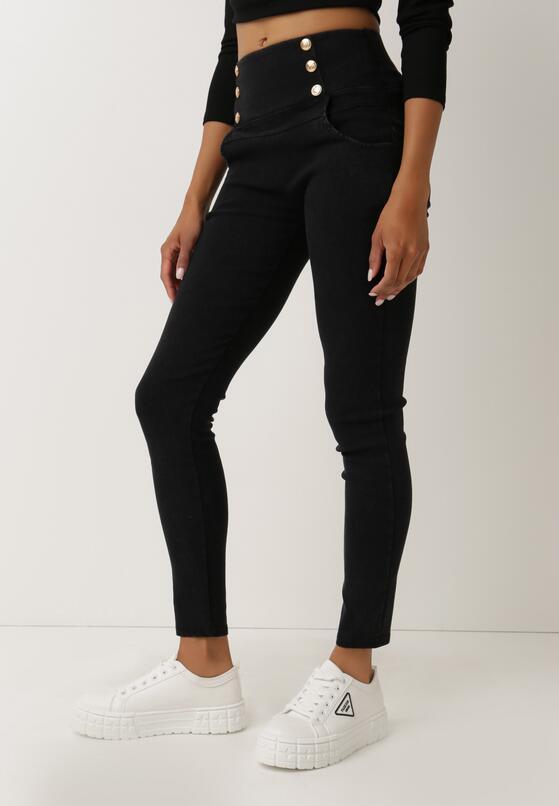 Czarne Spodnie Alcidoe