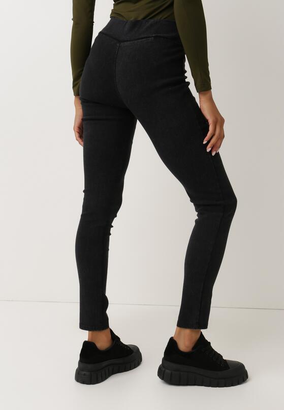 Czarne Spodnie Slim Nulceude