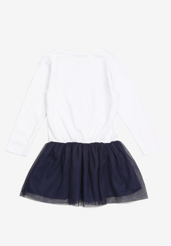 Biała Sukienka Nixona
