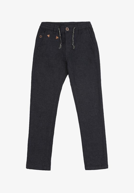 Granatowe Spodnie Karephelia