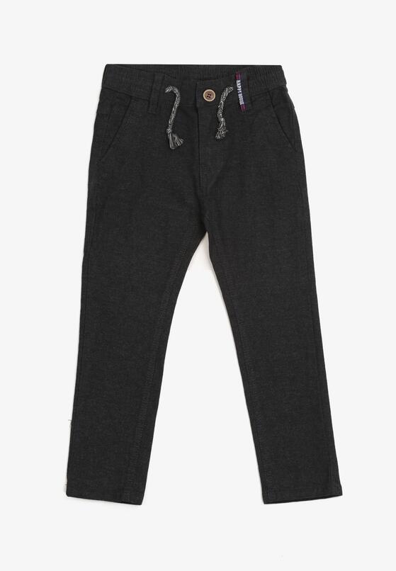 Czarne Spodnie Mede