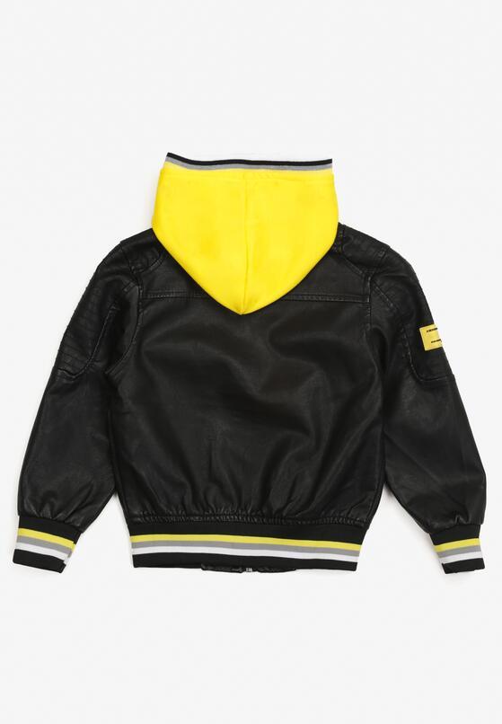 Czarno-Żółta Kurtka Caloria