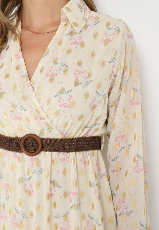 Jasnożółta Sukienka Azrael