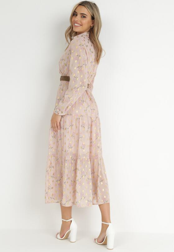 Różowa Sukienka Azrael