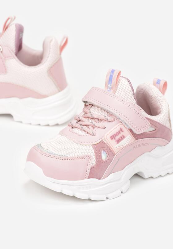 Różowe Buty Sportowe Pohith