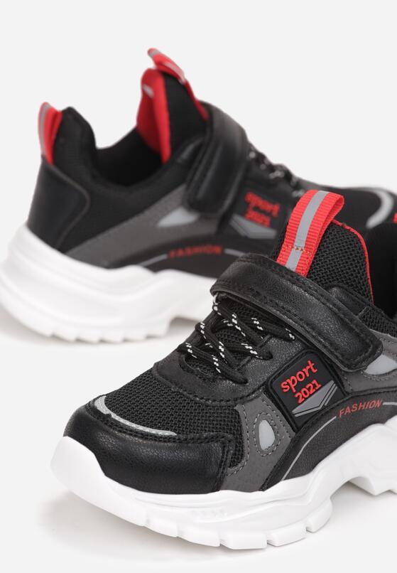 Czarne Buty Sportowe Pohith