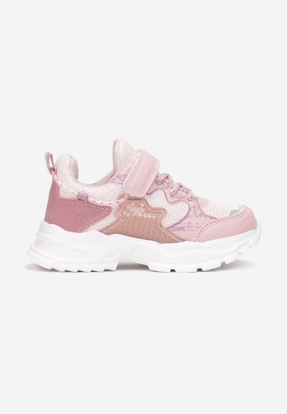 Różowe Buty Sportowe Idarin