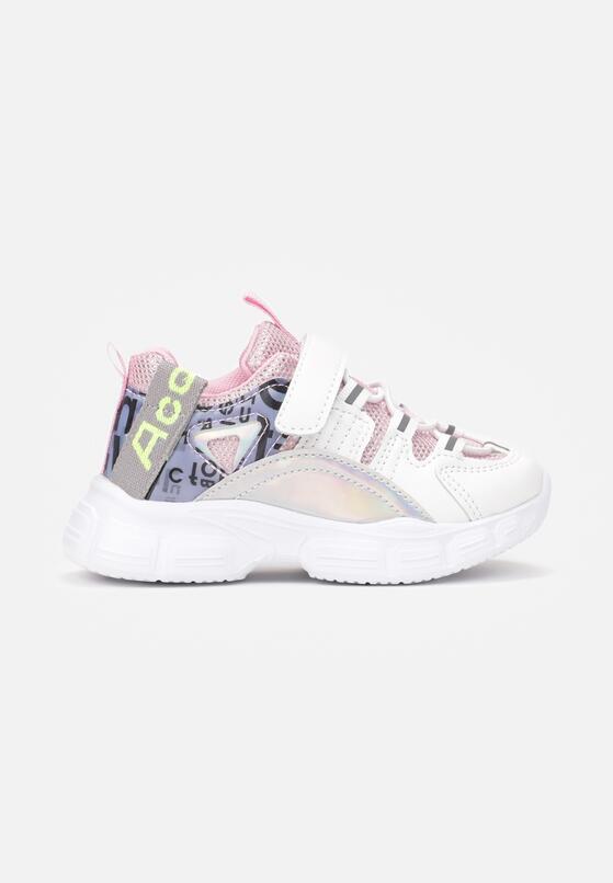 Biało-Różowe Buty Sportowe Ehiless
