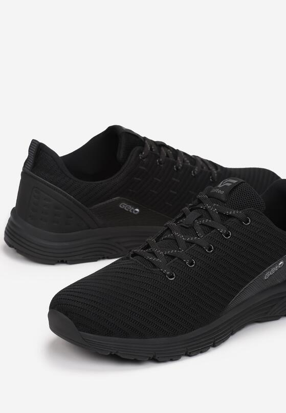 Czarne Buty Sportowe Rehael