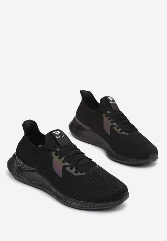 Czarne Buty Sportowe Phiosesis