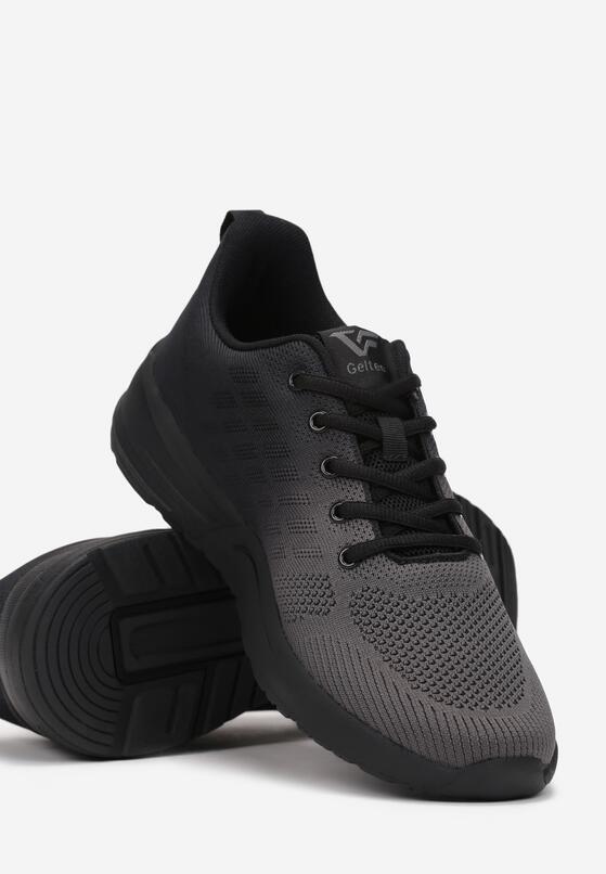 Czarne Buty Sportowe Isda