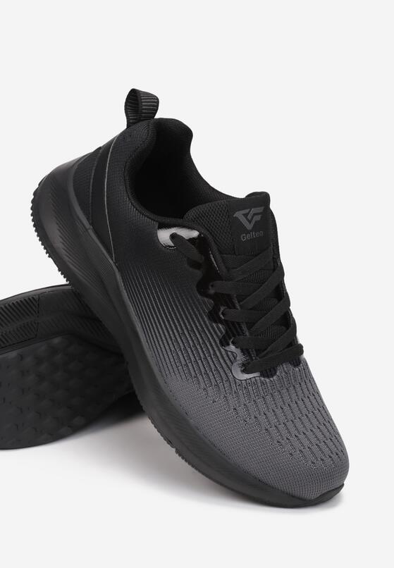 Czarne Buty Sportowe Pathiel