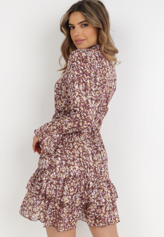 Brązowa Sukienka Tryphanie