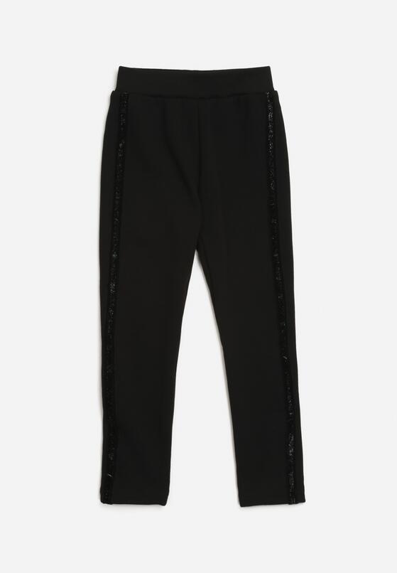Czarne Spodnie Adime