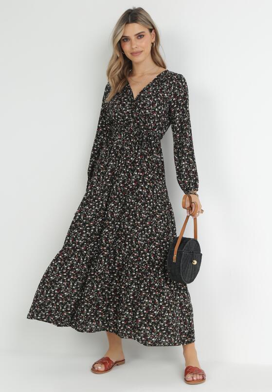 Czarna Sukienka Inias