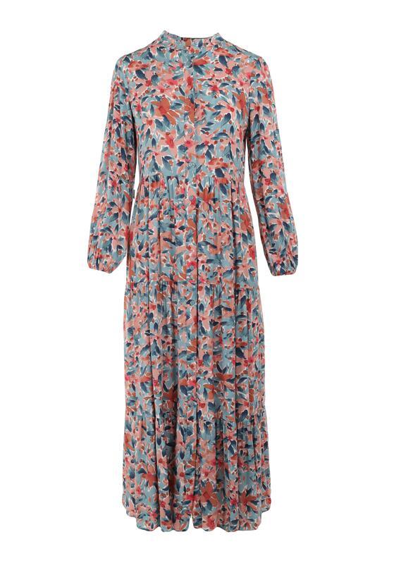 Niebiesko-Różowa Sukienka Barbeira