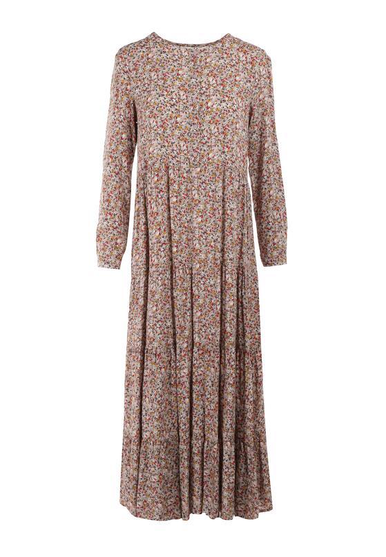 Beżowa Sukienka Doroinne