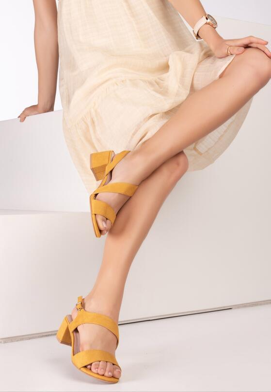 Żółte Sandały Hirei