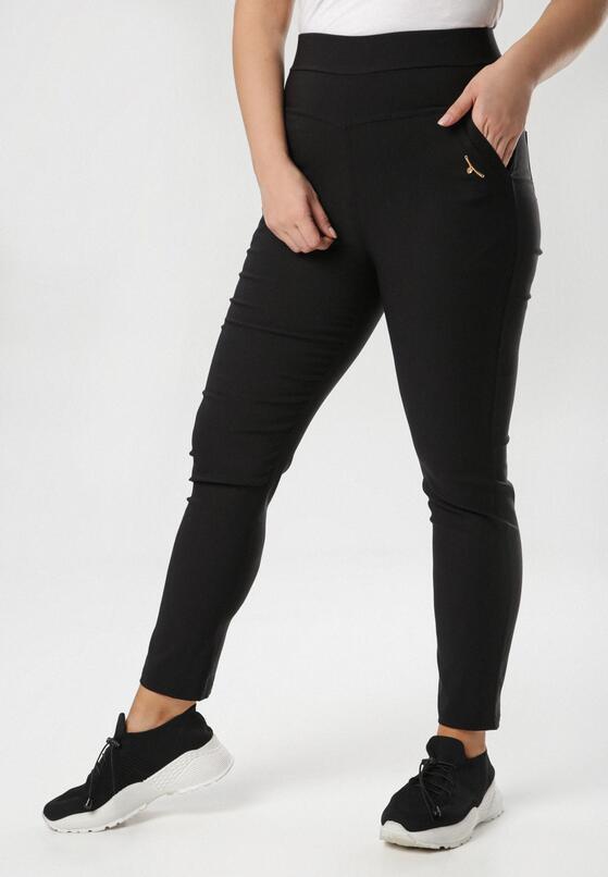 Czarne Spodnie Rhaemis