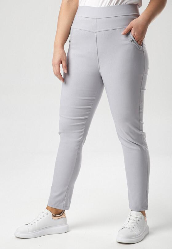 Szare Spodnie Alulure